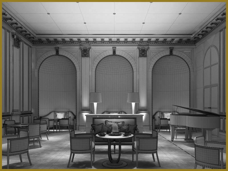 Art Deco Stijl : Art deco stijl frame decoratieve gloeiende gouden lichten