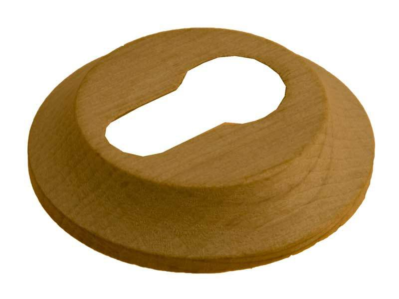Cilinderplaat hout charme rond 60mm 1
