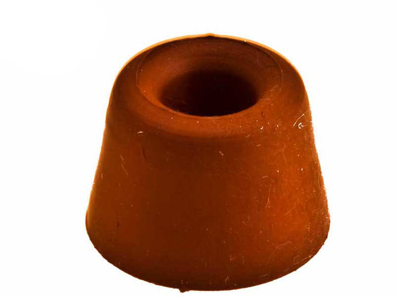 Deurstopper Rubber rood Simply 10 mm 1