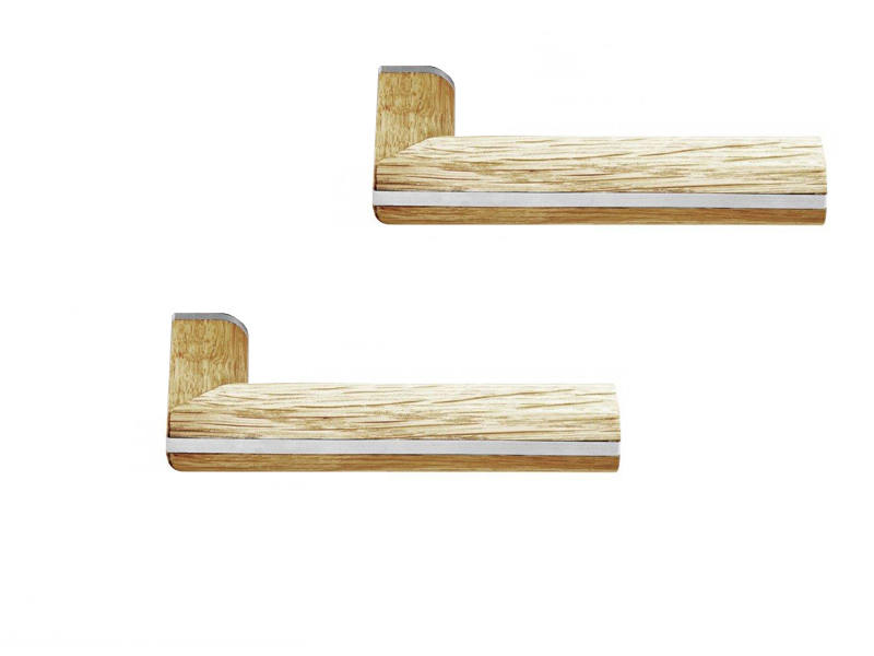 Deurkruk Hout Two Piet Boon L-model 1